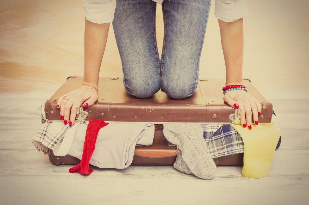 pakowanie walizki na wakacje